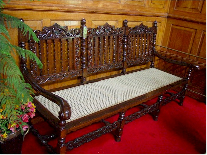 Raj Bhavan Udhagamandalam Antique furniture
