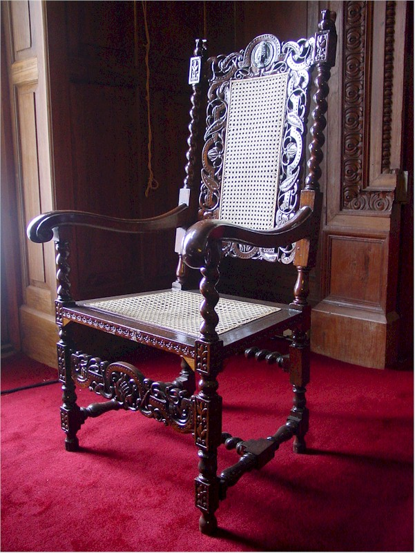 Raj Bhavan Udhagamandalam Antique Furniture Chair